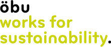 öbu works for sustainability logo